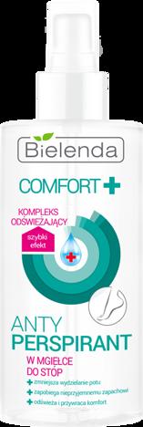 BIELENDA COMFORT Antyperspirant  w MGIEŁCE do stóp 150 ml