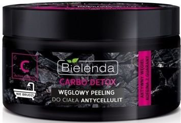 BIELENDA Carbo Detox Węglowy peeling solny do ciała ANTYCELLULIT 250 g