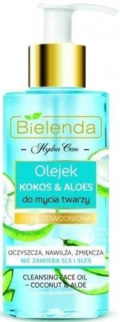 BIELENDA HYDRA CARE Nawilżający olejek do mycia twarzy KOKOS & ALOES 140 ml