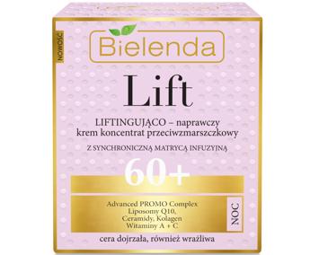 BIELENDA LIFT Liftingująco-naprawczy krem / koncentrat 60+ NOC 50 ml