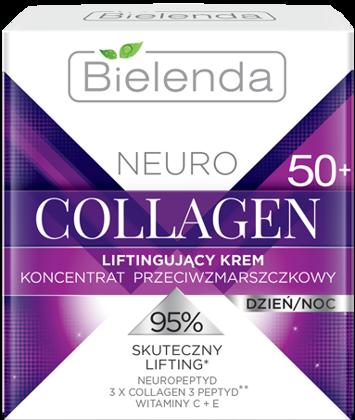 BIELENDA NEURO COLLAGEN Liftingujący krem – koncentrat przeciwzmarszczkowy 50+ dzień/noc 50 ml