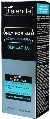 BIELENDA ONLY FOR MEN Męski krem do depilacji ACTIVE FORMULA 100ml