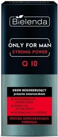 BIELENDA ONLY FOR MEN Regenerujący krem przeciw zmarszczkom STRONG POWER Q10 50 ml
