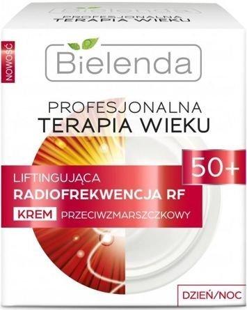 BIELENDA PROFESJONALNA TERAPIA WIEKU Liftingująca Radiofrekwencja RF Krem przeciwamzrszczkowy 50+ dzień/ noc 50 ml