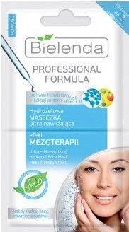 BIELENDA Professional FORMULA Hydrożelowa maseczka ultra nawilżająca EFEKT MEZOTERAPII 10 g