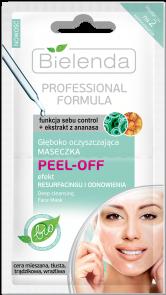 BIELENDA Professional FORMULA Maseczka PEEL-OFF oczyszczająca 10 g