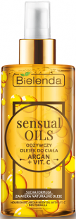 BIELENDA SENSUAL OILS  Olejek do ciała ARGAN + WIT.C 150 ml