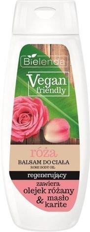 BIELENDA VEGAN FRIENDLY Balsam do ciała regenerujący róża 400 ml