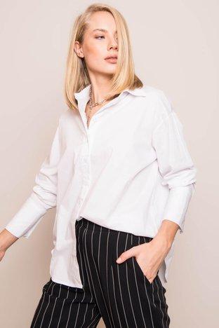 BSL Biała klasyczna koszula