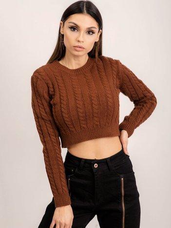 BSL Brązowy sweter