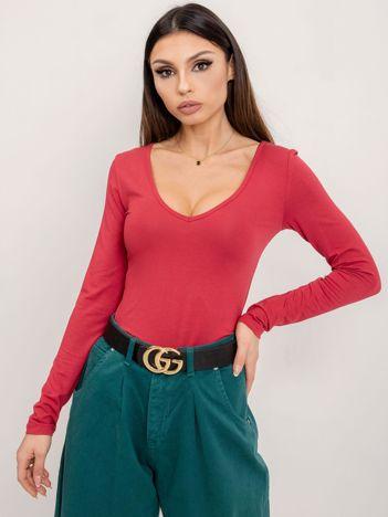BSL Czerwona bluzka basic