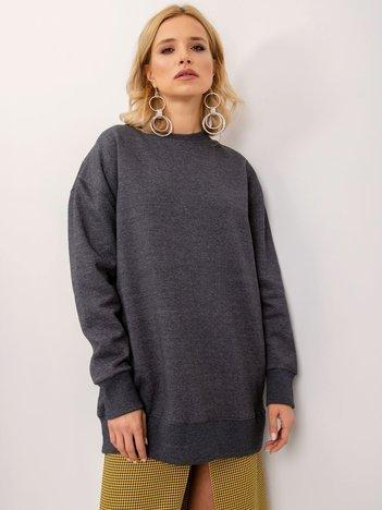 BSL Grafitowa bluza oversize