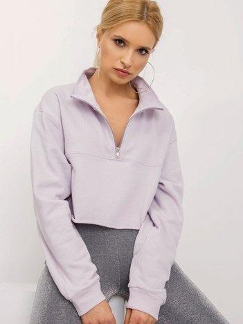 BSL Jasnofioletowa bluza damska