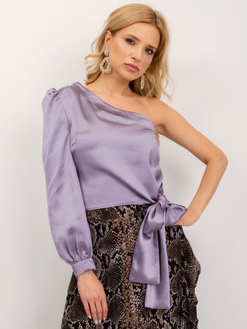 BSL Jasnofioletowa bluzka damska