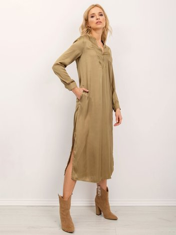 BSL Khaki sukienka