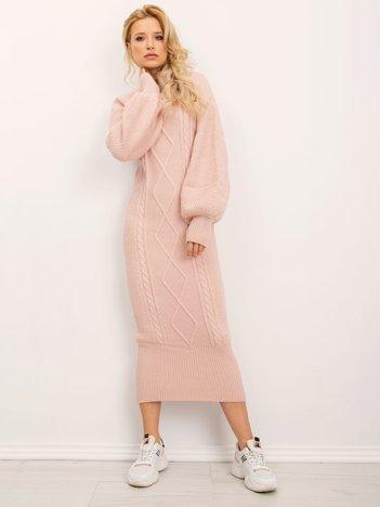 BSL Pudroworóżowa sukienka