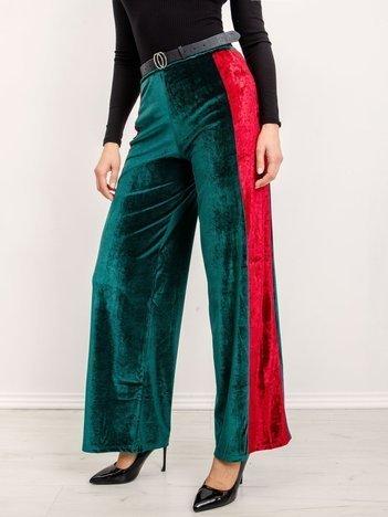 BSL Zielono-czerwone spodnie