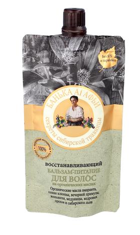 Bania Agafii Balsam do włosów odżywczo - regeneracyjny do włosów suchych i osłabionych 100 ml