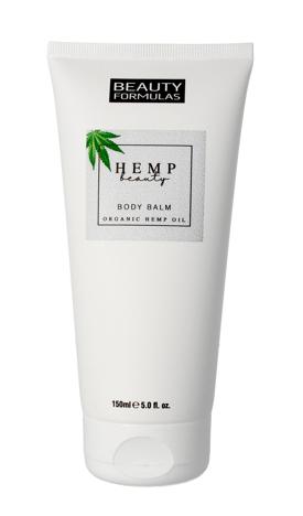 """Beauty Formulas Hemp Beauty Balsam do ciała nawilżający 150ml"""""""
