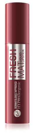 Bell Hypoallergenic Fresh Mat Pomadka w płynie matowa nr 04 Hibiscus 4.4g