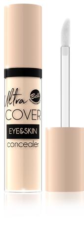 Bell Korektor intensywnie kryjący w płynie Ultra Cover Eye & Skin nr 02 Light Sand 5g