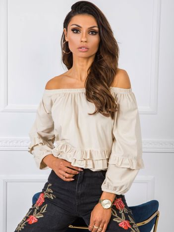 Beżowa bluzka Carrie