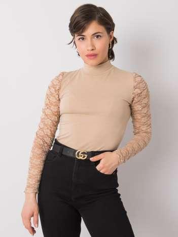 Beżowa bluzka Gilianna RUE PARIS