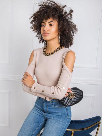 Beżowa bluzka Perri RUE PARIS