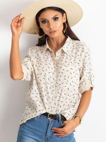 Beżowa koszula Millennia