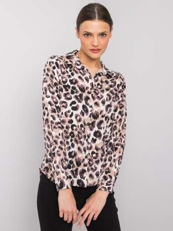 Beżowa koszula Nanne