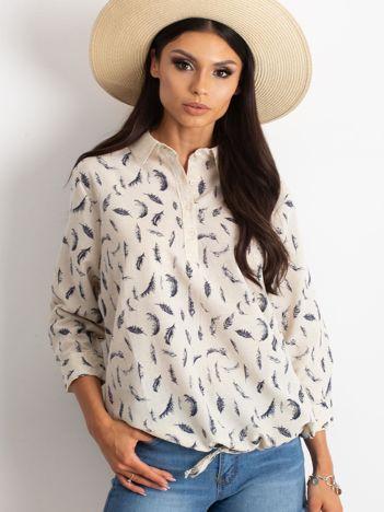 Beżowa koszula Unfussy