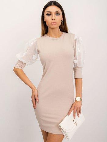 Beżowa sukienka Bellissima
