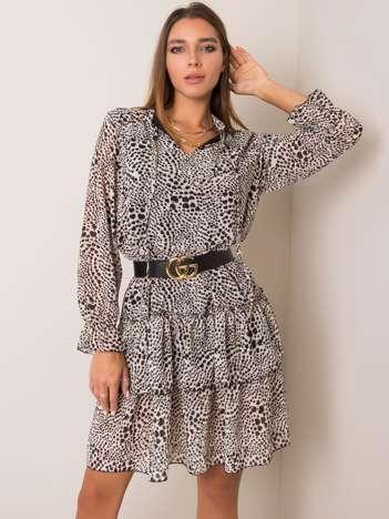 Beżowa sukienka Tori OCH BELLA