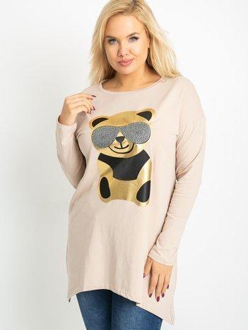 Beżowa tunika Bear