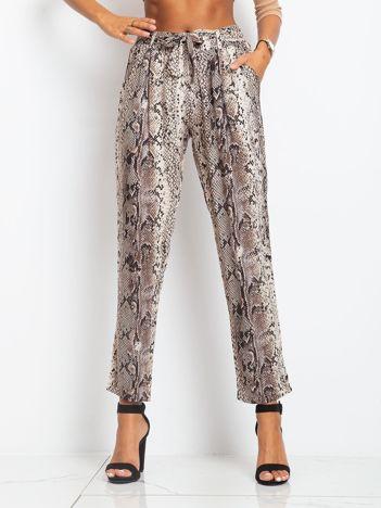 Beżowe spodnie Dream