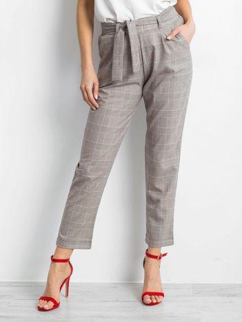 Beżowe spodnie Feelgood