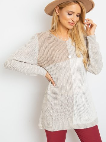 Beżowy sweter Latina