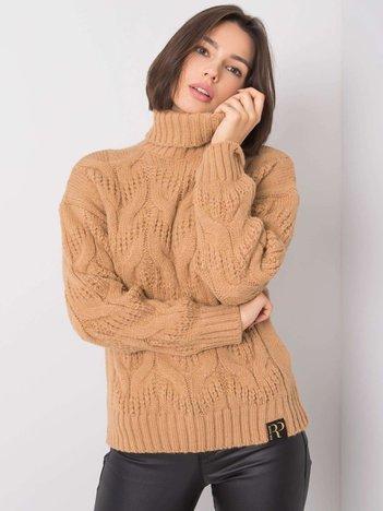 Beżowy sweter Memphis RUE PARIS