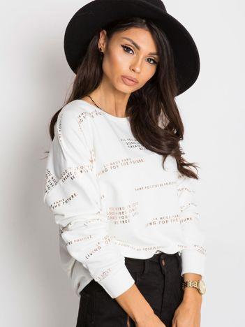 Biała bluza Divene