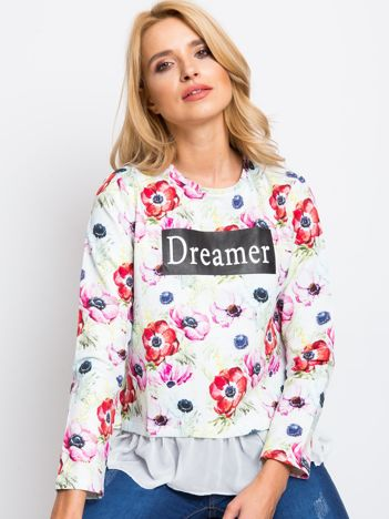 Biała bluza Dreamer