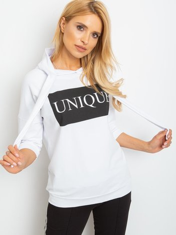 Biała bluza Unique