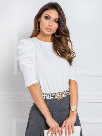 Biała bluzka Alessandra