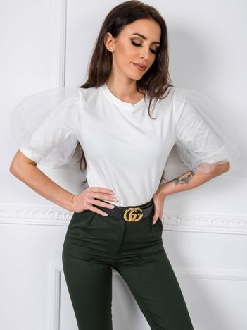 Biała bluzka Hannah