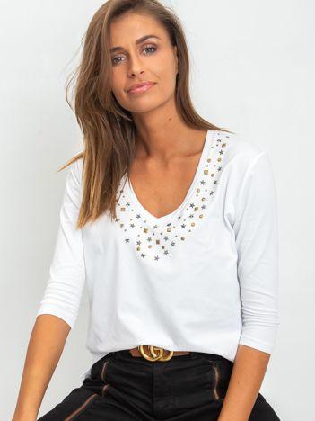 Biała bluzka Scarlett
