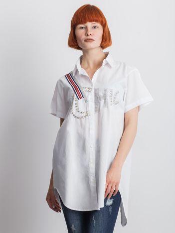 Biała koszula Cluelessly