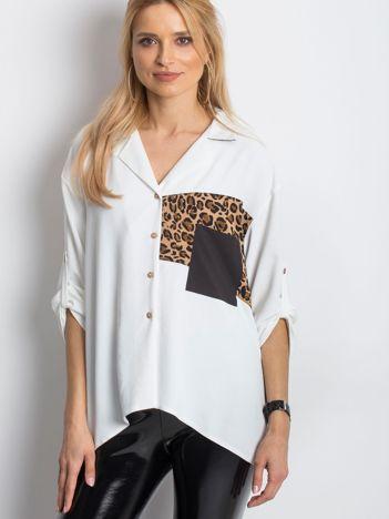 Biała koszula Colourway