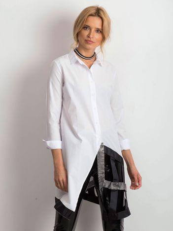 Biała koszula Risky