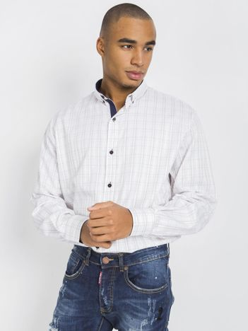 Biała koszula męska Brandon