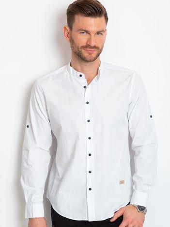 Biała koszula męska Territory