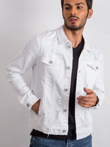Biała kurtka męska Anybody